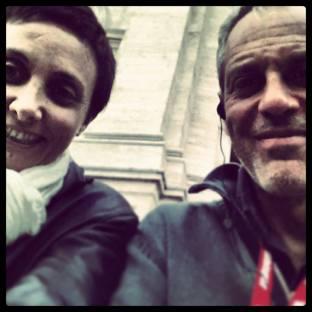 Giorgia&Marco, Visita alle Sette Chiese nella notte - 17 Maggio 2013 Roma