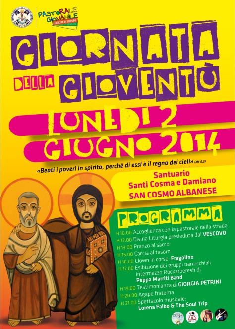 Eparchia di Lungro degli italo-albanesi dell'Italia continentale - Giornata della gioventù 2014