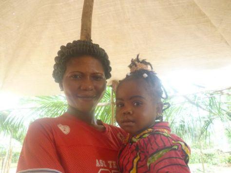 Marie e sua figlia Carla