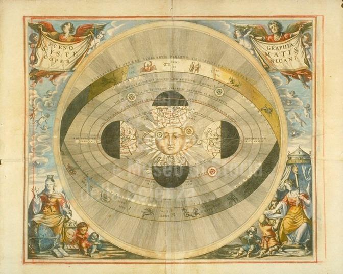 Niccolò Copernico e il Perfetto Artefice dell'universo.