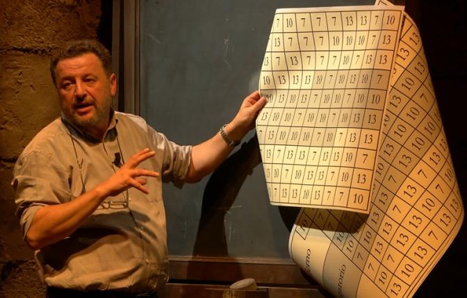 Franco Nembrini scopre il genio del bersaglio.