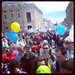Marcia per la Vita, 4 Maggio 2014 Roma