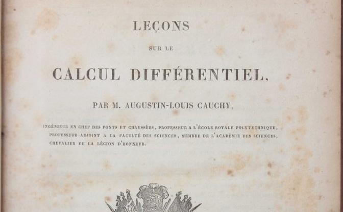 Carità e fede nella vita del matematico Cauchy.