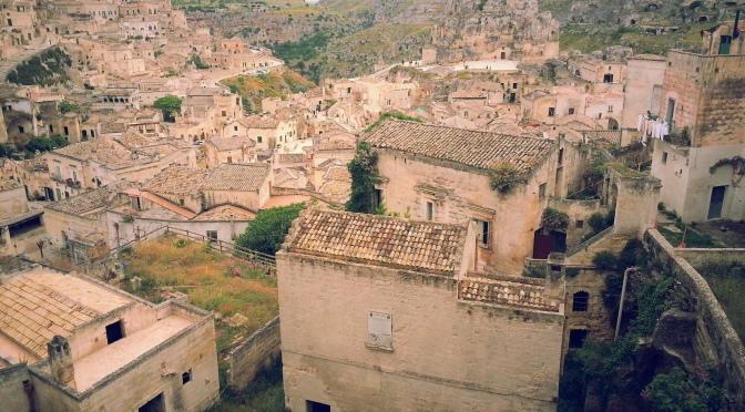 Le foto del pellegrinaggio verso San Cosmo Albanese: Matera, Capitolo 1.