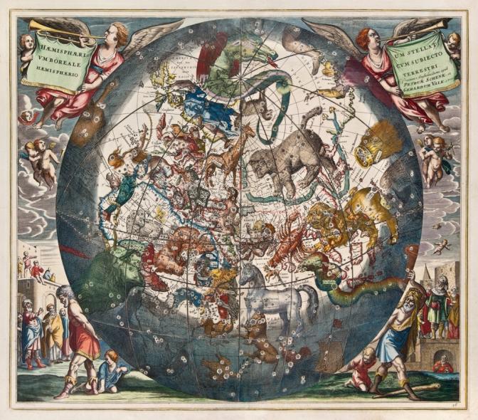 Carlo Rubbia e le costellazioni poste da Dio nel firmamento.