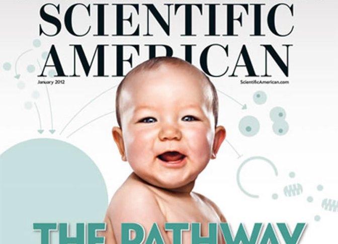 La vita (non) esiste? La speranza incarnata in un bambino smonta Scientific American.