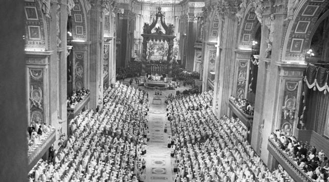 """Lo """"spirito"""" del Concilio soffia sul Sinodo."""