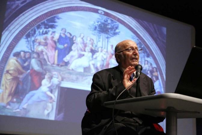 Addio a Giovanni Reale, maestro di pensiero e di fede.