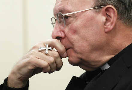 ARCHBISHOP ANDRE-JOSEPH LEONARD OF MECHELEN-BRUSSELS TESTIFIES DURING HEARING