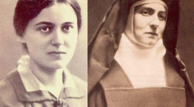 Dispensatore gratuito di buon umore: Edith Stein, suor Teresa Benedetta della Croce.