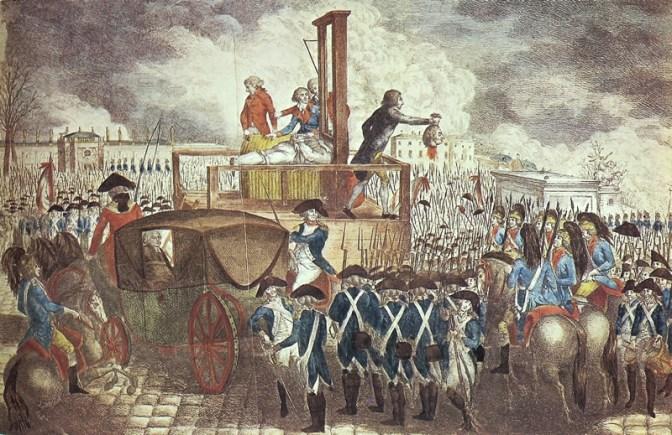 Lavoisier, padre della chimica moderna, discriminato e ghigliottinato.