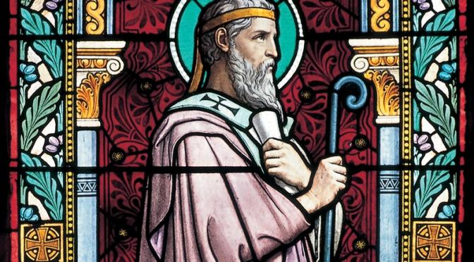 Dispensatore gratuito di buon umore: Sant'Ireneo di Lione.