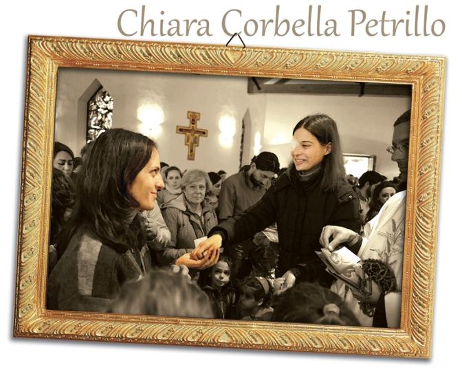 Chiara Corbella Petrillo ad Assisi, 8 Dicembre 2014.