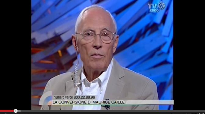 Dalla massoneria alla Fede: la conversione di Maurice Caillet.