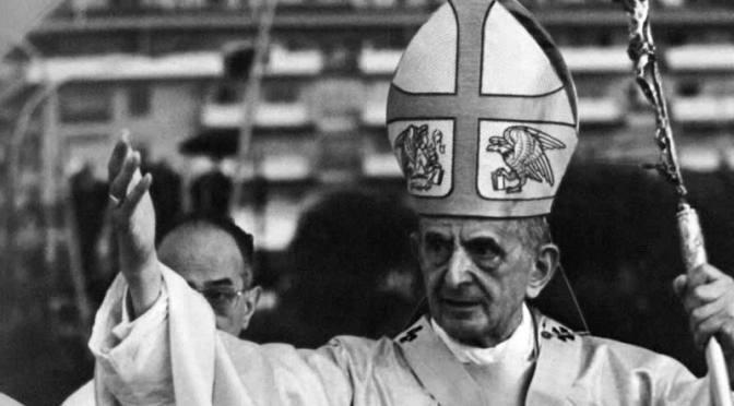 """Diceva Paolo VI: """"Risanare le inclinazioni inumane del cuore dell'uomo"""""""