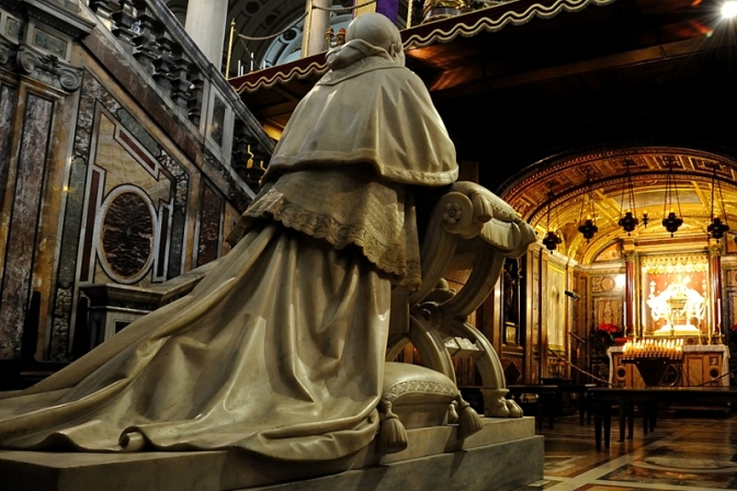 Papa Pio IX parla ai cattolici militanti