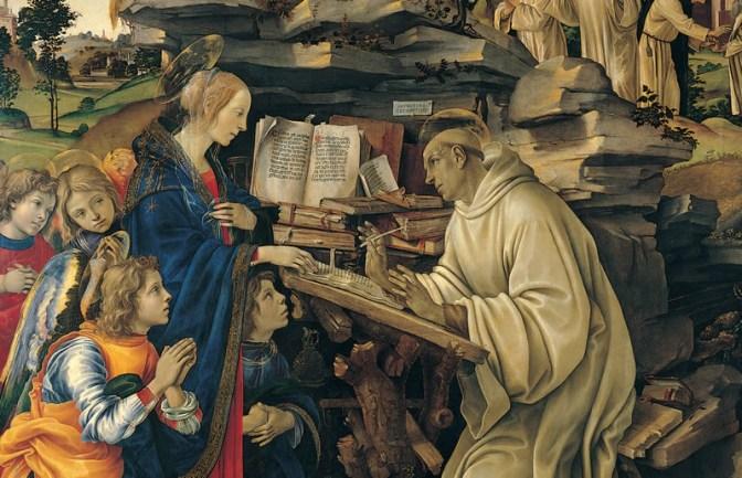 Dispensatore gratuito di buon umore: San Bernardo di Chiaravalle.