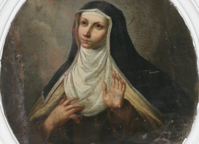 Dispensatore gratuito di buon umore: Santa Maria Maddalena de' Pazzi.